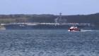 Capitán destituido por destapar casos de covid-19 en el buque Roosevelt