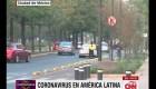 El tráfico de Ciudad de México sigue pese a covid-19