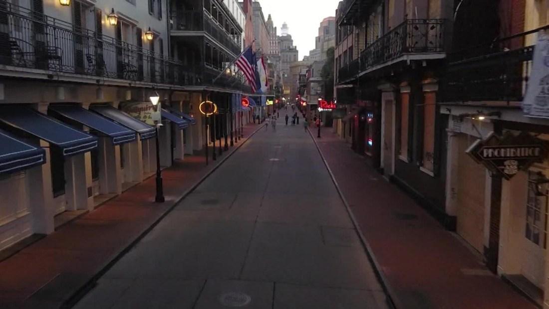 Nueva Orleans, en emergencia por el nuevo coronavirus