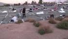 Así es el distanciamiento social para desamparados en Las Vegas