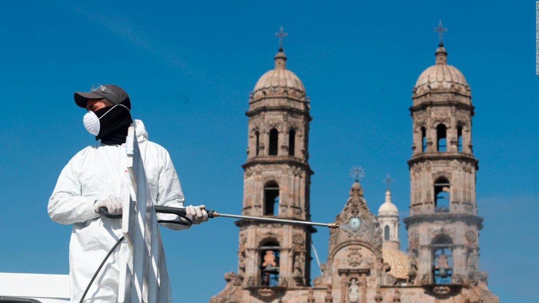 Así luce México con los cierres por la alerta sanitaria