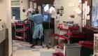 Una mirada a una unidad para pacientes con coronavirus
