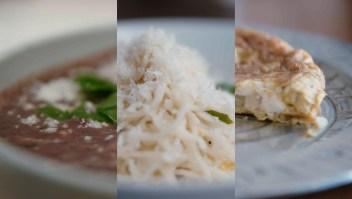 Tres recetas sencillas para la cuarentena