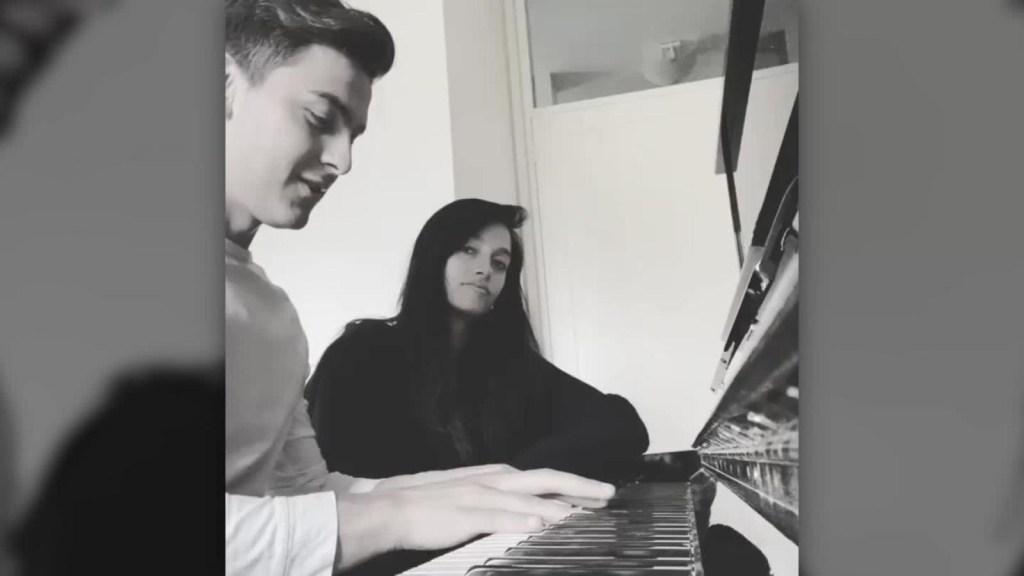Dybala muestra un talento escondido y la gran voz de su novia