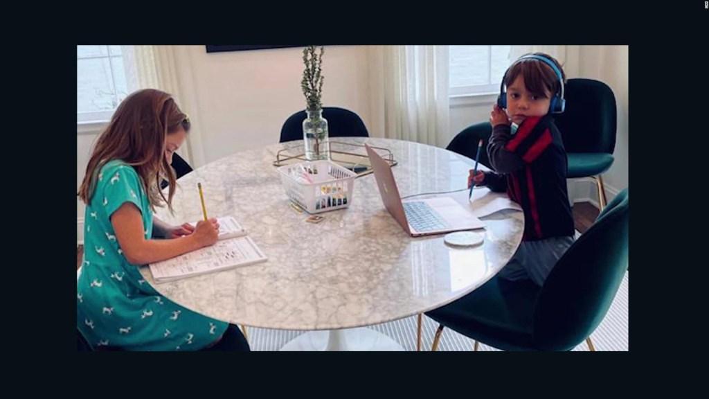 Familias recurren a la creatividad para el aprendizaje de los niños