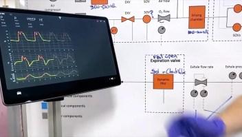 Tesla revela su prototipo de respirador hecho con partes de autos
