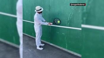 Este es el desafío viral de Roger Federer en cuarentena