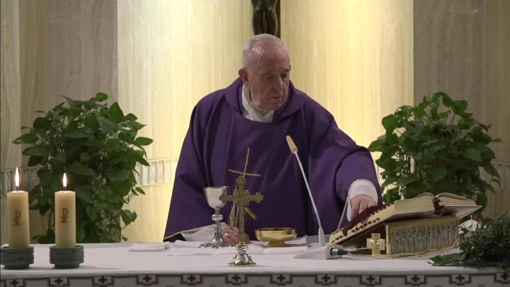 Papa Francisco: Coronavirus es respuesta de la naturaleza