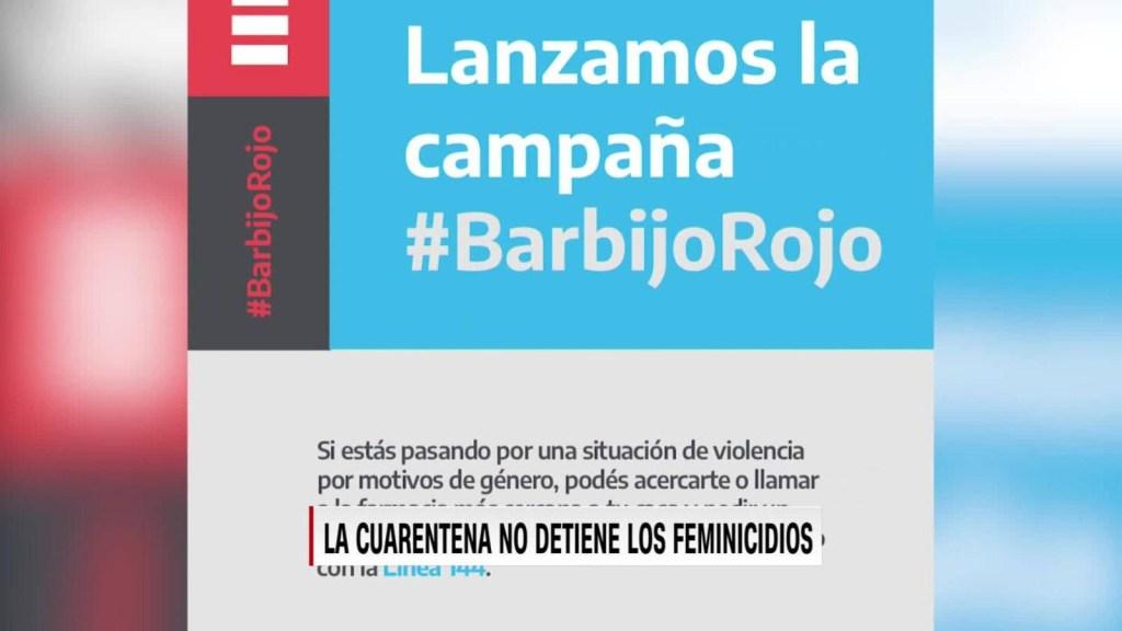 ONG: 15 feminicidios en 14 días de cuarentena en Argentina