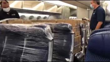 Avión mexicano traerá cargamento médico desde China