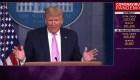 Encuesta CNN: 49% aprueba gestión de Trump ante covid-19