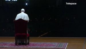 La transmisión de Semana Santa del papa Francisco