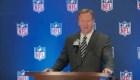 El comisionado de la NFL conducirá el draft desde casa