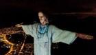 "Brasil: se ""viste"" de médico el Cristo Redentor"