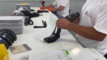 De la industria aeronáutica a máscaras contra el covid-19