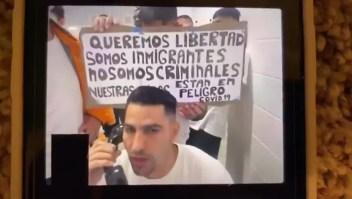Indocumentados detenidos dicen estar en riesgo de contagio por covid-19