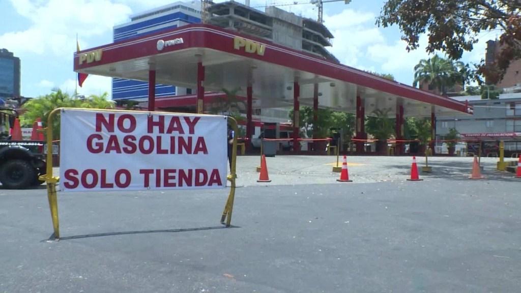 Escasez de gasolina en Venezuela por covid-19