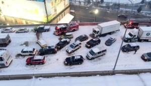 54 vehículos involucrados en accidente masivo en Chicago