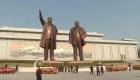 Discreta celebración en Corea del Norte, en medio de la pandemia