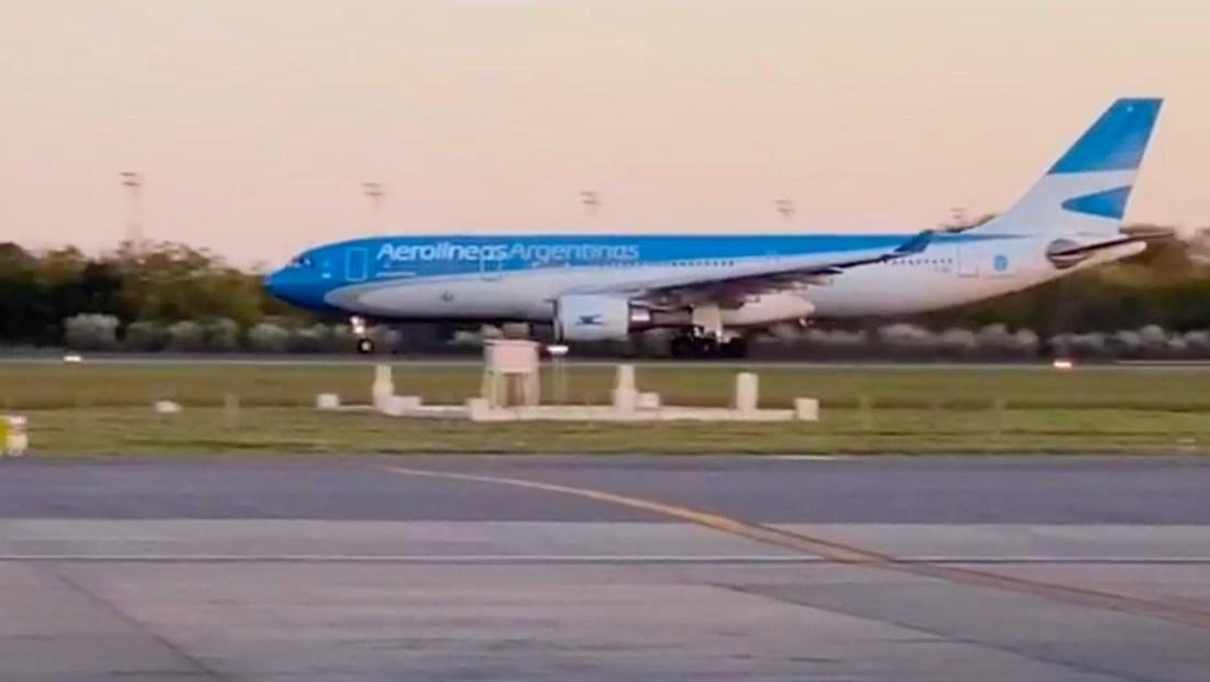 La misión de una tripulación para traer insumos médicos de Argentina a China