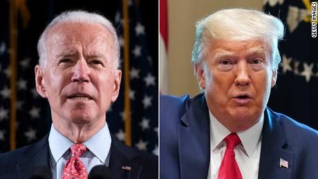 Biden aventaja a Trump en encuesta presidencial