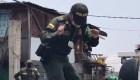 Policías bailan zumba contra el coronavirus en Colombia