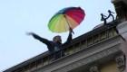 Madrid: Pese a la cuarentena, residentes están de buen ánimo