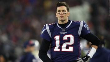 Tom Brady fue visto en un parque cerrado de Tampa