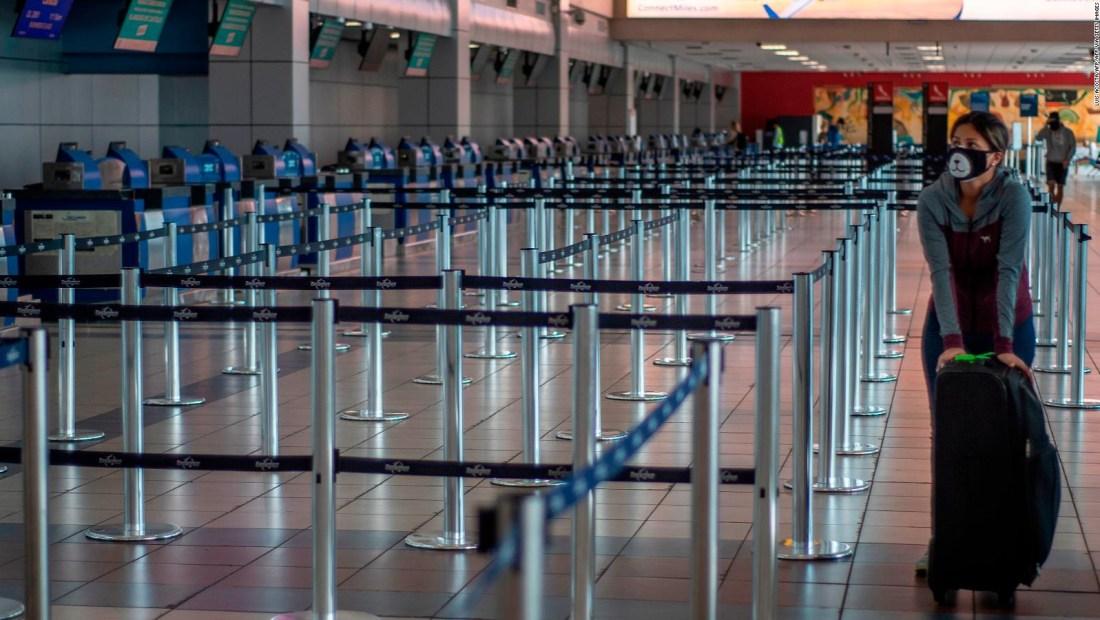 América Latina: tráfico en los aeropuertos se redujo 91%
