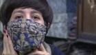 Barbijos a la moda para combatir el coronavirus