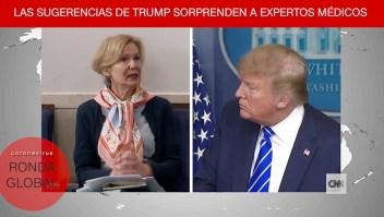 La reacción de la Dra. Birx ante afirmaciones de Trump y más