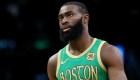 Jaylen Brown pide a la NBA luchar contra el covid-19