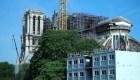 Reanudan reconstrucción de Notre Dame