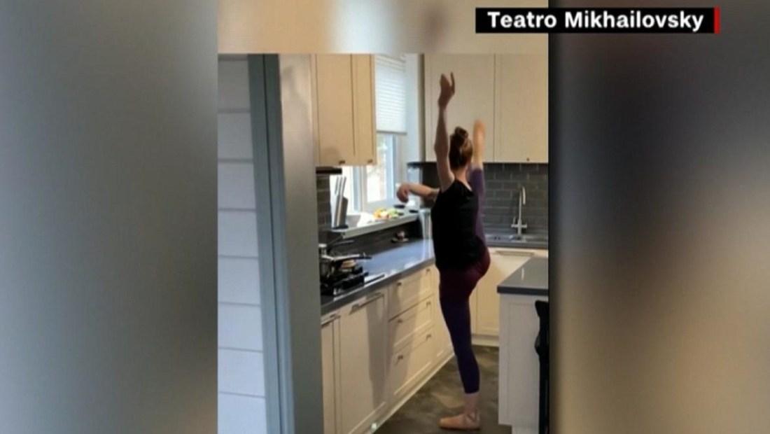 ¿Qué hacen los bailarines profesionales en la cuarentena?