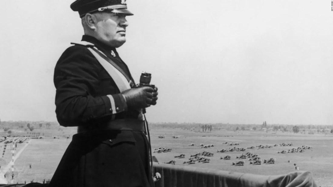 Un día como hoy fue ejecutado Mussolini