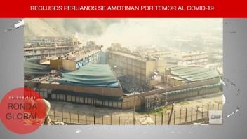 Otro motín, ahora en Perú, y más noticias del covid-19