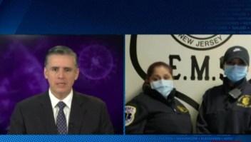 Covid-19: testimonios desde ambulancias de Nueva Jersey