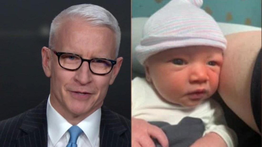 Anderson Cooper anuncia al mundo que ya es padre