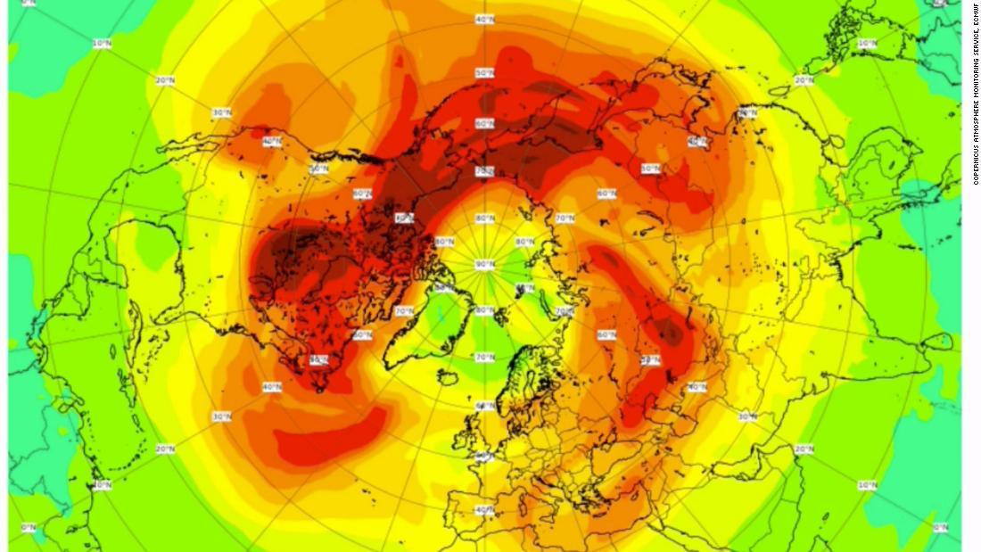 El agujero de ozono ártico más grande jamás desarrollado se desarrolló esta primavera. Ahora, los científicos dicen que está cerrado.