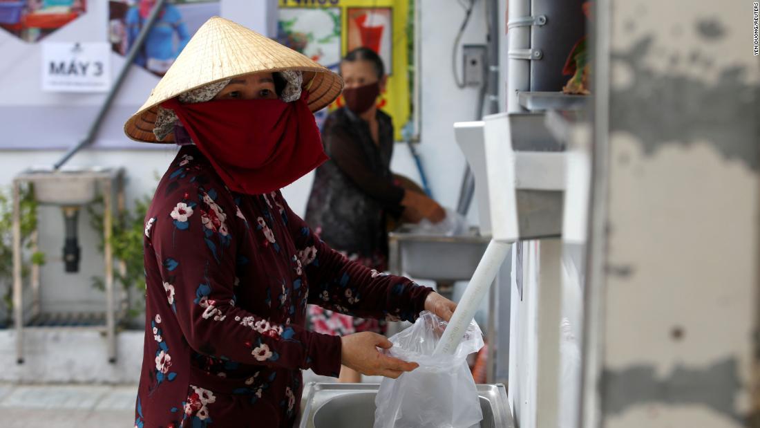 Cajero automático arroz Vietnam