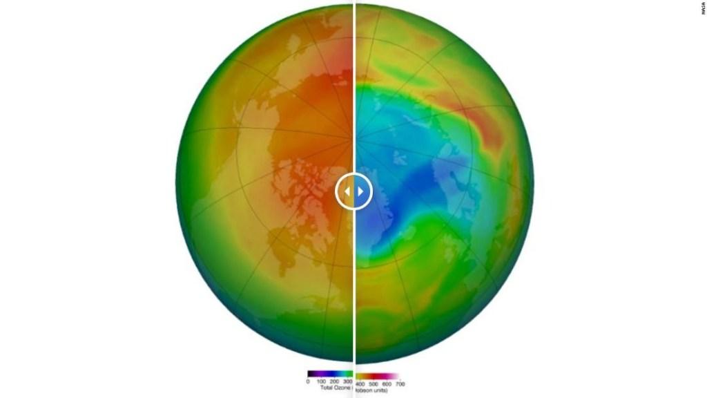 Los científicos descubrieron lo que podría ser el agujero más grande jamás registrado en la capa de ozono del Ártico