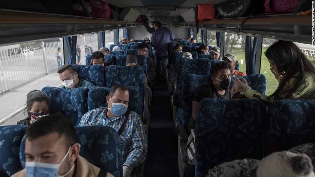 Refugiados venezolanos regresan a casa en medio de la pandemia de coronavirus