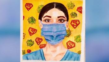 dibujos dia nino enfermera coronavirus