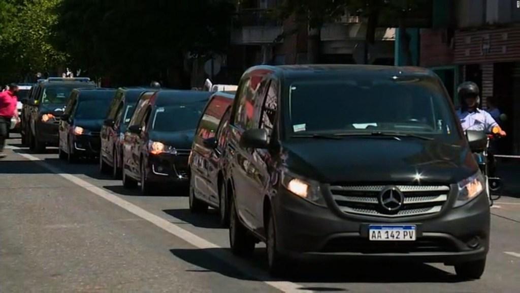 Covid-19: El último adiós desde el auto