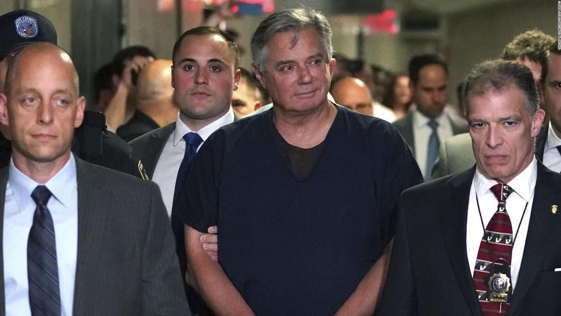 Paul Manafort cumplirá condena en casa para prevenir el covid-19