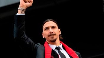 AC Milan reacciona a la lesión de Zlatan Ibrahimovic