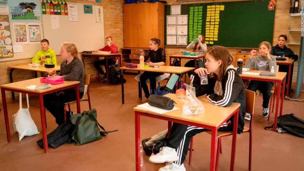 coronavirus-escuelas-niños-Dinamarca