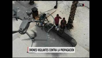 Así ayudan los drones a combatir el coronavirus