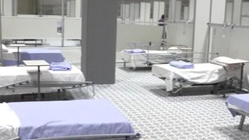 Cierran hospital de campaña de covid-19 en España