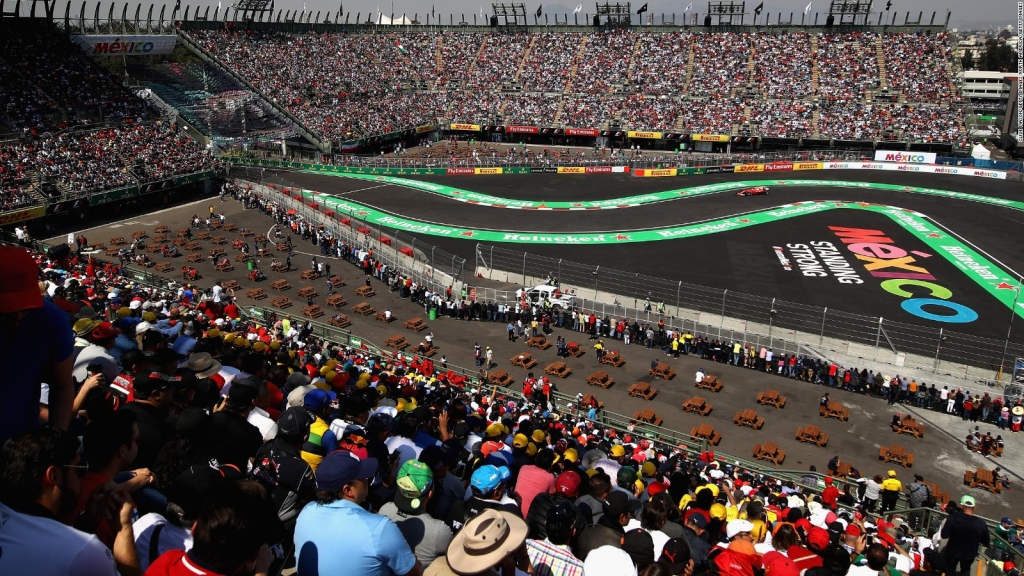 Circuito mexicano de la Fórmula 1 será utilizado como hospital